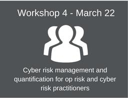 OpRisk North America workshop 4